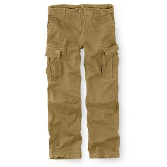 tan cargo pants men - Pi Pants